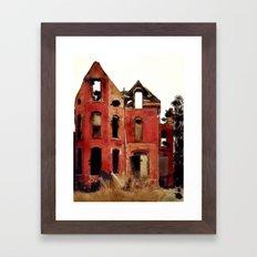 Abandoned Detroit Framed Art Print