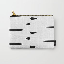 Rorschach (White) Carry-All Pouch