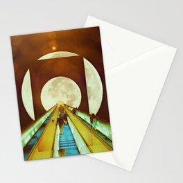 The Escalator Stationery Cards