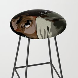 Hip Hop Mos Bar Stool