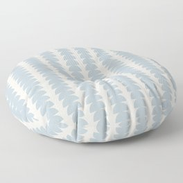 Maude Pattern - Blue Floor Pillow