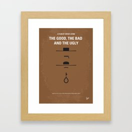No090 My The Good The Bad The Ugly MMP Framed Art Print