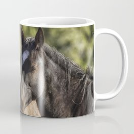 A Filly and a Colt from Garcia's band - Pryor Mustangs Coffee Mug