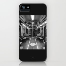 New York Subway Car iPhone Case