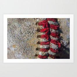 red strings Art Print