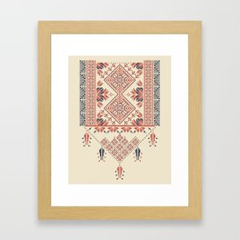 Palestina pattern Framed Art Print