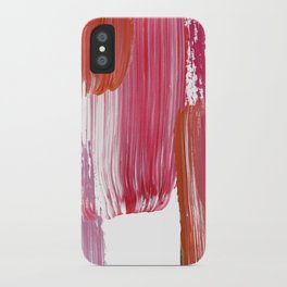 Pink Mood iPhone Case