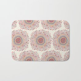 Sunflower Mandala Bath Mat