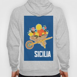 Sicilia - Sicily Italy Vintage Travel Hoody