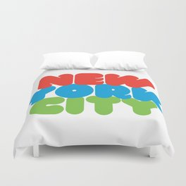 New York City Style Duvet Cover