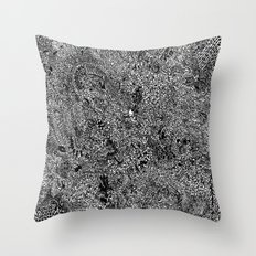 Oodles of Doodles Throw Pillow