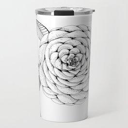 Camellia flower Travel Mug