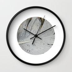 feather macro XIII Wall Clock