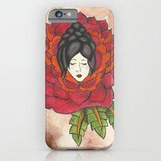 Lady in Rose Slim Case iPhone 6s