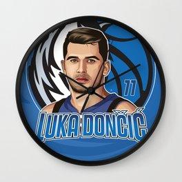 Luka Doncic Wall Clock