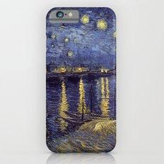 Vincent Van Gogh Starry Night Over The Rhone Slim Case iPhone 6