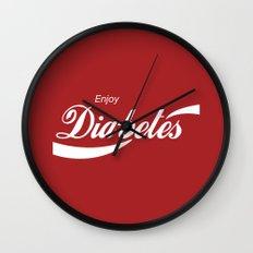 Enjoy Diabetes Wall Clock