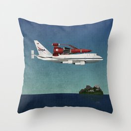 Thunderbird Carrier Throw Pillow