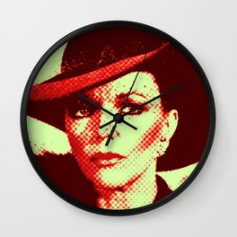 Alexis Pop Two Tone Wall Clock