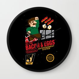 All the Bacon and Eggs Wall Clock