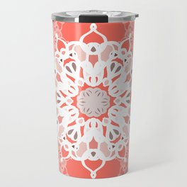 Coraled Mandalas Travel Mug