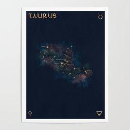 Taurus Constellation Poster