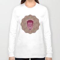 tyler durden Long Sleeve T-shirts featuring Tyler Durden - FightClub by Kuki