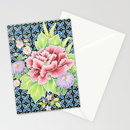 Brocade Bouquet Stationery Cards