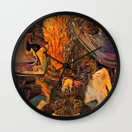 I'm Batty For You Wall Clock