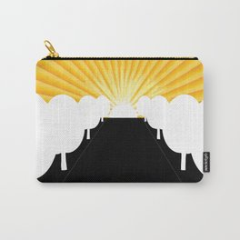 Tree Avenue Carry-All Pouch