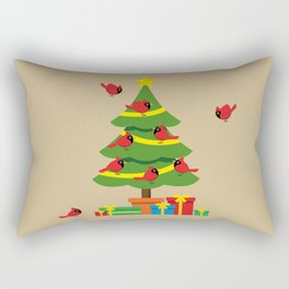 Christmas Is Merrier When Spent Together Rectangular Pillow