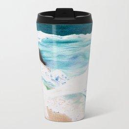 Day at the Sea Travel Mug