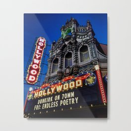 The Hollywood Theater, Portland Metal Print