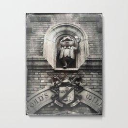 Mr Toad by Topher Adam 2017 Metal Print
