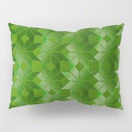 Evergreen, Snowflakes #32 Pillow Sham