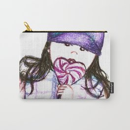 Kayla Bean; Sweets Carry-All Pouch