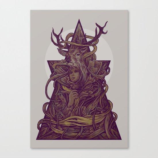 Beautiful Deer Canvas Print