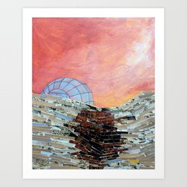 This Must Be The Place (Glass Igloo) Art Print