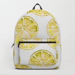 Yellow Citrus Backpack