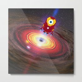 IRONMAN GALAXY Metal Print