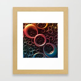 Loopy Framed Art Print
