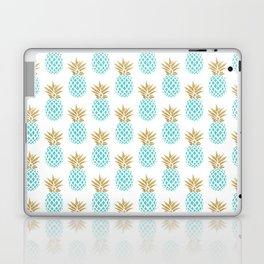 Elegant faux gold pineapple pattern Laptop & iPad Skin