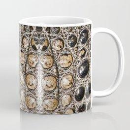 American alligator Leather Print Coffee Mug