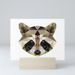 Raccoon Mini Art Print
