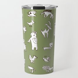 Animalia autumn Travel Mug