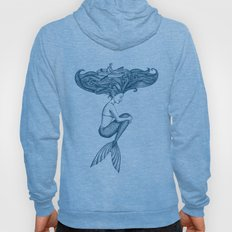 Mermaid: hair ocean Hoody