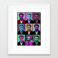 popart Framed Art Prints featuring Different popart by Renars