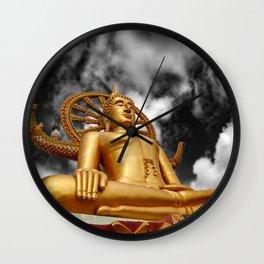 Big Buddha Thailand Wall Clock