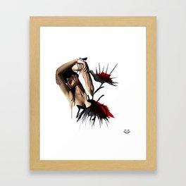 Fluide femelle 2 Framed Art Print
