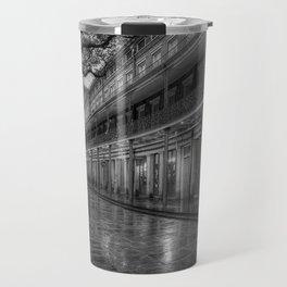 New Orleans, French Quarter, Jackson Square black and white photograph / black and white photography Travel Mug
